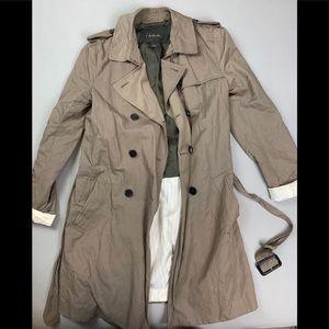 T. Babaton trench coat